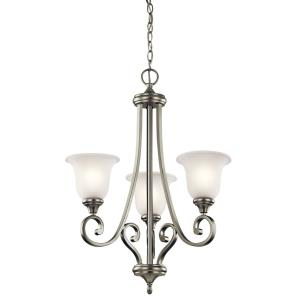 Monroe - Three Light Chandelier