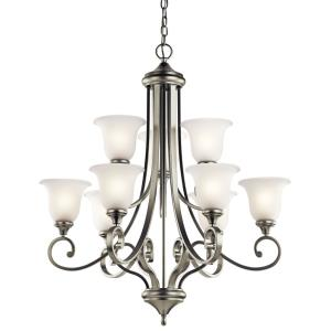 Monroe - Nine Light Chandelier