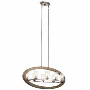 Grand Bank - Eight Light Oval Chandelier