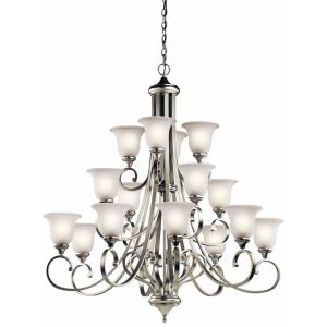 Monroe - Sixteen Light Multi Tier Chandelier