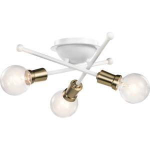 Armstrong - 3 Light Flush Mount
