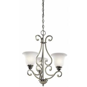 Camerena - Three Light Chandelier