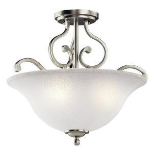 Camerena - Three Light Semi-Flush Mount