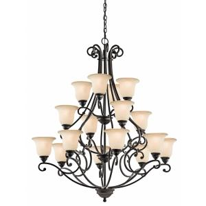 Camerena - Sixteen Light Multi Tier Chandelier