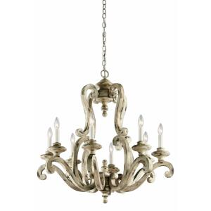 Hayman Bay - Eight Light Large Chandelier