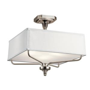 Arlo - Three Light Semi Flush Mount