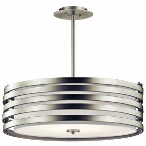 Roswell - 4 light Pendant - 24 inches wide