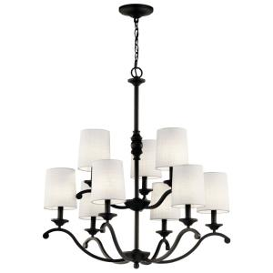 Versailles - Nine Light 2-Tier Chandelier