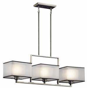 Kailey - Three Light Linear Chandelier