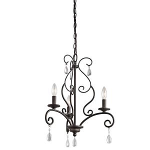 Marcele - Three Light Mini-Chandelier
