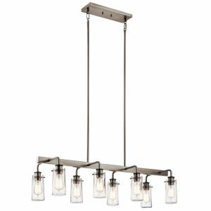 Braelyn - Eight Light Linear Chandelier