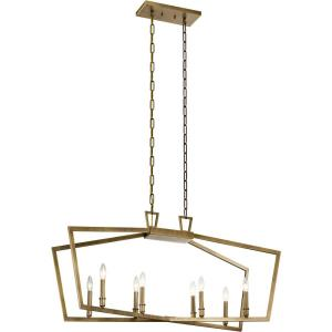 Abbotswell - Eight Light Linear Chandelier