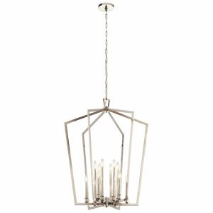 Abbotswell - 12 Light Foyer Chandelier - with Traditional inspirations - 39.25 inches tall by 30 inches wide