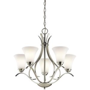 "Keiran - 24.5"" 27W 5 LED Medium Chandelier"