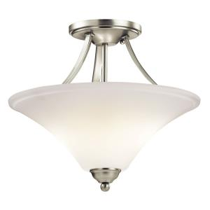 Keiran - 15 Inch 18W 2 LED Semi-Flush Mount