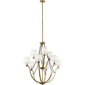 Thisbe - 9 light 2-Tier Chandelier - 38 inches tall by 33 inches wide