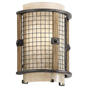 Ahrendale Transitional 1 Light Wall Sconce