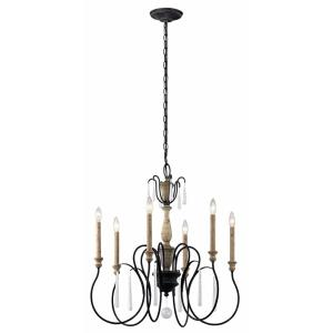 Kimblewick - Six Light Chandelier