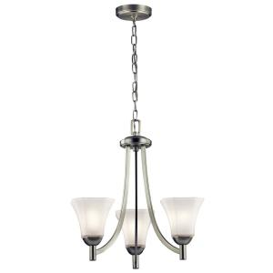 Serena - Three Light Small Chandelier