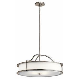 Emory - Three Light Convertible Pendant/Semi-Flush Mount