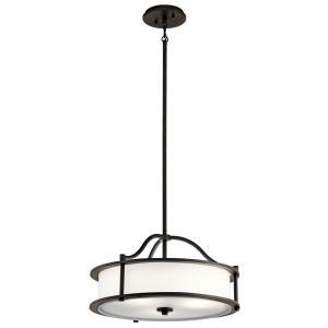 Emory - Four Light Convertible Chandelier/Semi-Flush Mount