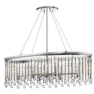 Piper - Six Light Oval Chandelier