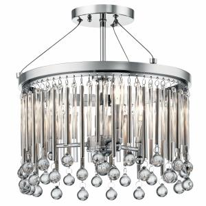 Piper - Three Light Semi-Flush Mount