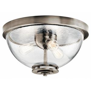 Silberne - Three Light Flush Mount