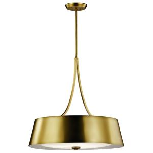 Maclain - Four Light Round Pendant