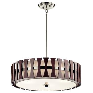 Cirus - Four Light Convertible Pendant/Semi-Flush Mount