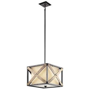 Cahoon - One Light Convertible Pendant/Semi-Flush Mount