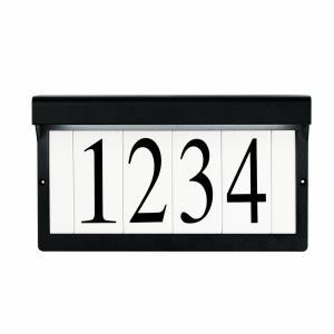 12.25 Inch 1 Light Address Light