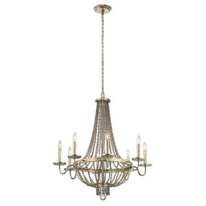 Birkdale - Eight Light Large Chandelier