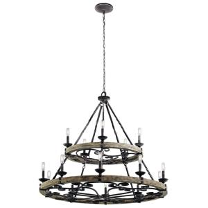 Taulbee - Fifteen Light 2-Tier Large Chandelier