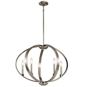 Elata - Five Light Round Chandelier