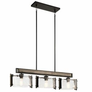 Aberdeen - Three Light Linear Chandelier