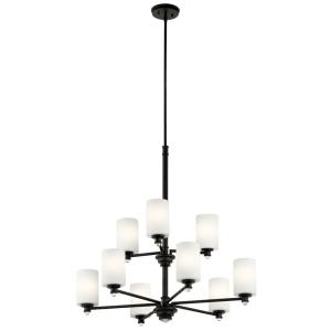 Joelson - Nine Light 2-Tier Chandelier