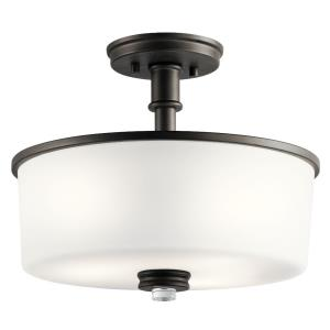 Joelson - 3 Light Semi-Flush Mount
