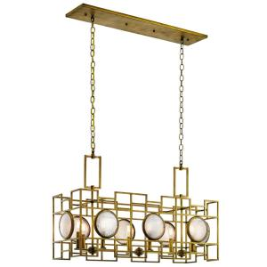 Vance - Eight Light Linear Chandelier