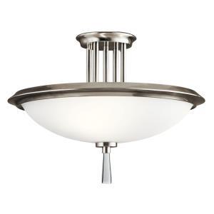Dreyfus - Three Light Semi-Flush Mount