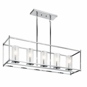 Crosby - Five Light Linear Chandelier