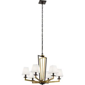 Dancar - Six Light Medium Chandelier