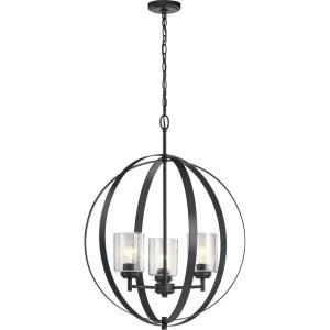 Winslow - 3 light Meidum Chandelier - 30.75 inches tall by 24.5 inches wide