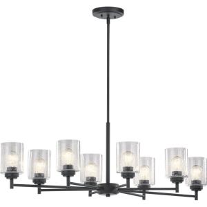 Winslow - 8 light Small Chandelier - 14.75 inches tall by 20 inches wide