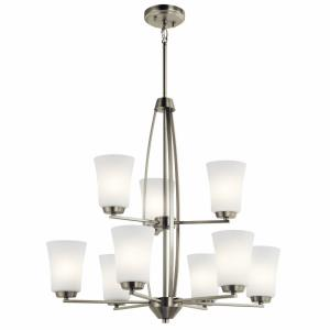 Tao - Nine Light 2-Tier Chandelier
