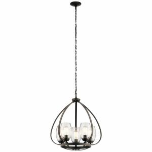 Tuscany - 5 light Small Chandelier - 24 inches tall by 22 inches wide