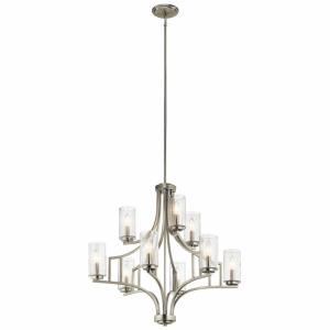 Vara - Nine Light 2-Tier Chandelier