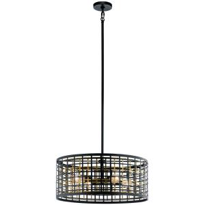 Aldergate - Four Light Round Pendant