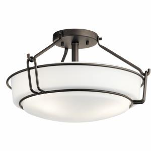 Alkire - Three Light Semi-Flush Mount