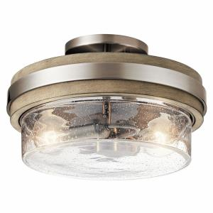 Grand Bank - Two Light Semi-Flush Mount